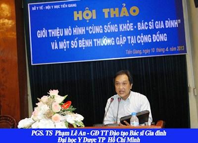 Hội thảo giới thiệu mô hình bác sĩ gia đình tại Tiền Giang