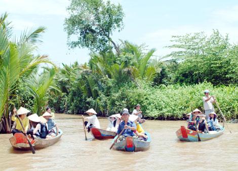 Công tác thông tin đối ngoại góp phần quảng bá du lịch Tiền Giang. Ảnh: vccinews.vn