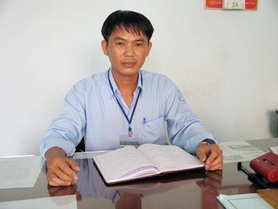 Anh Nguyễn Văn Hòa, Phó Giám đốc Trung tâm Giống nông nghiệp tỉnh Tiền Giang