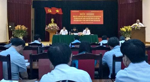 Giáo sư Hoàng Chí Bảo đóng góp ý kiến về việc xuất bản sách lý luận chính trị trong thời gian tới