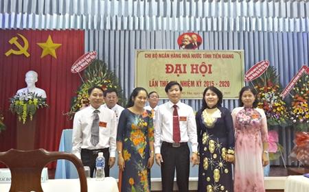 Đại hội Chi bộ Ngân hàng Nhà nước tỉnh Tiền Giang (Ảnh minh họa)