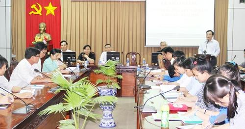 Trường Đại học Tiền Giang khai giảng lớp bồi dưỡng kết nạp Đảng