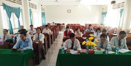 Đại biểu tham gia hội thi