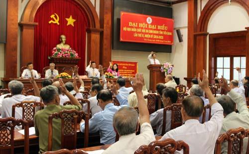 Với tinh thần dân chủ, trách nhiệm, Đại hội đạt được sự thống nhất cao
