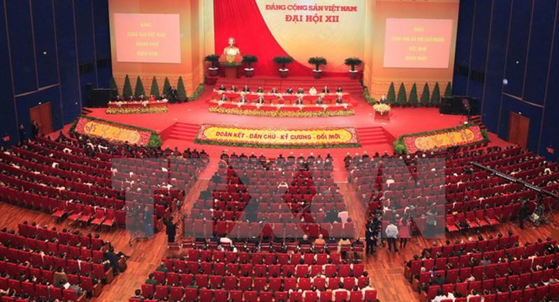 Toàn cảnh Đại hội đại biểu toàn quốc lần thứ XII của Đảng. Ảnh: TTXVN.