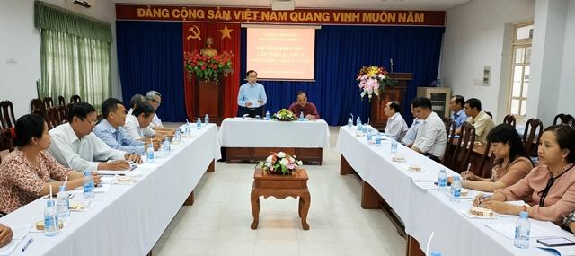 """Quang cảnh hội thảo """"Tiền Giang - Nhân vật chí"""" lần thứ 2."""